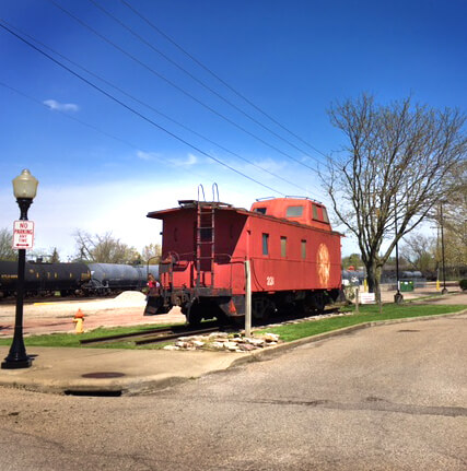 Caboose - Zanesville Ohio Train